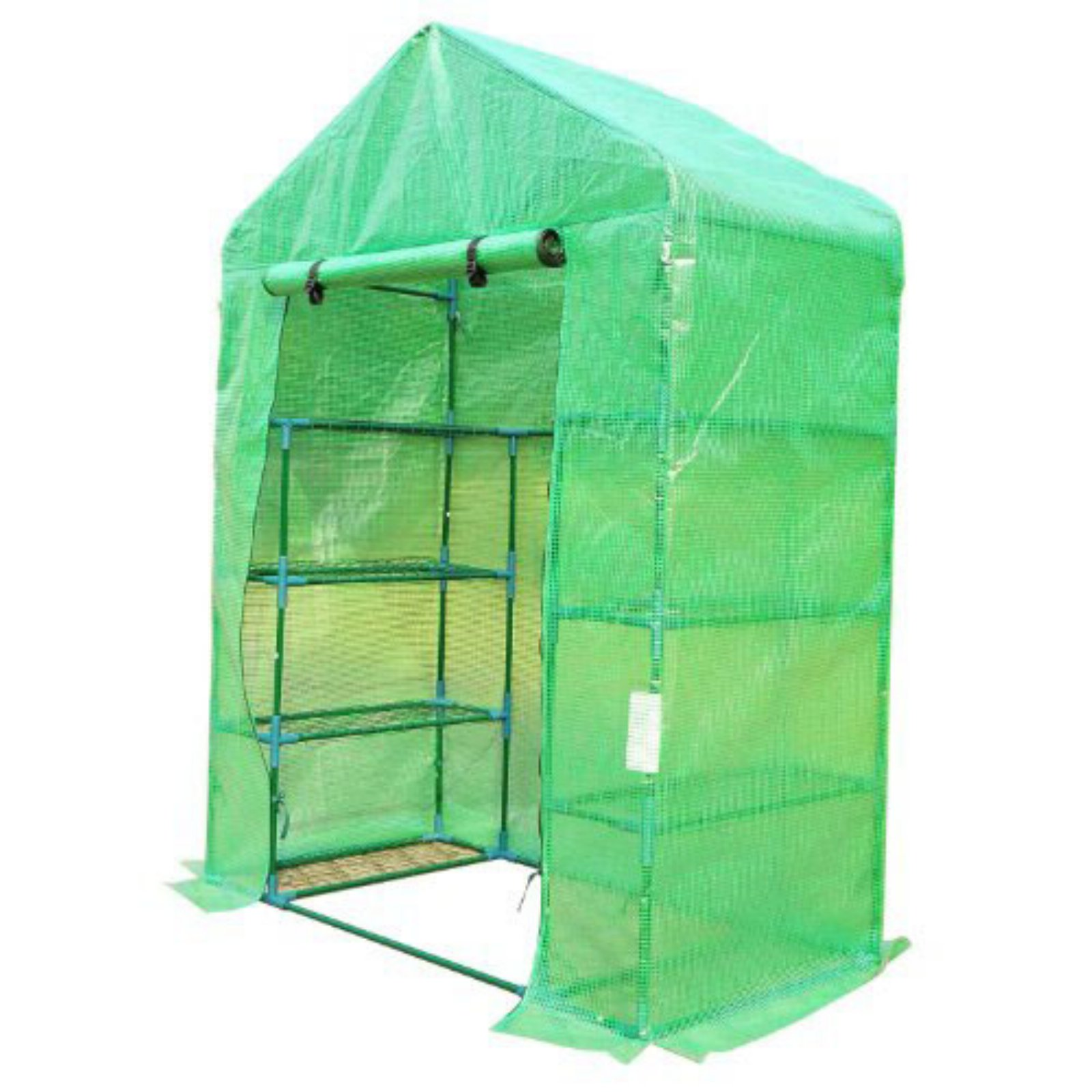 Outsunny 56L x 30W x 78H in. Portable Greenhouse with Shelves