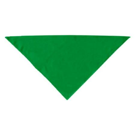 Plain Bandana Emerald Green Large - Green Bandanna