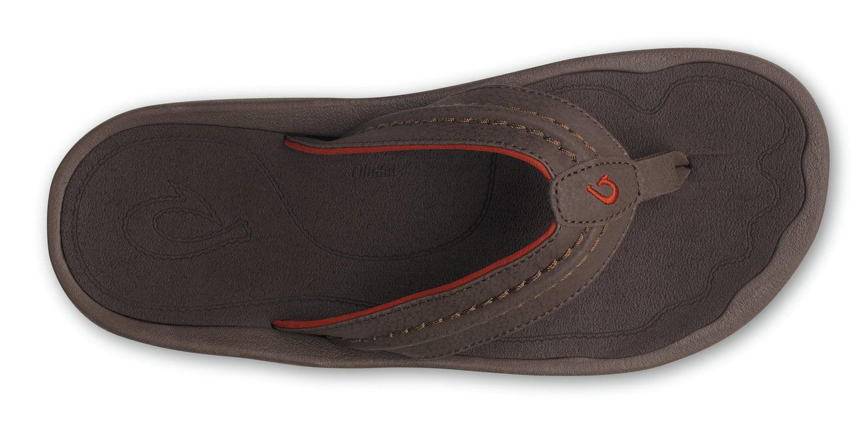 Olukai Hokua Mens Sandals-Dark Java-9 Economical, stylish, and eye-catching shoes