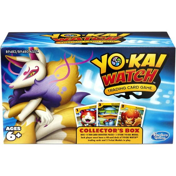 Yo Kai Watch Trading Card Game Collector S Box Walmart Com Walmart Com