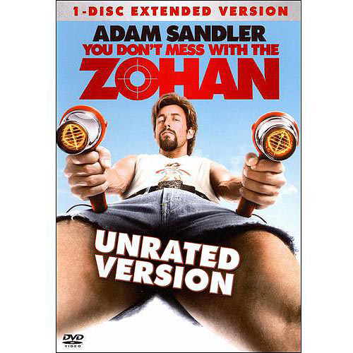You Don't Mess With The Zohan (Unrated) (Widescreen)
