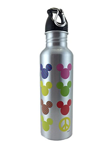 Best Dad in the Galaxy Star Wars Mickey Mouse Water Bottle