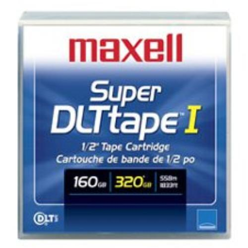 Maxell Sdlt-220 Data Cartridge - Super Dlttape I - 160 Gb [native] / 320 Gb [compressed] - 1833 Ft Tape Length - 1 Pack (183700)