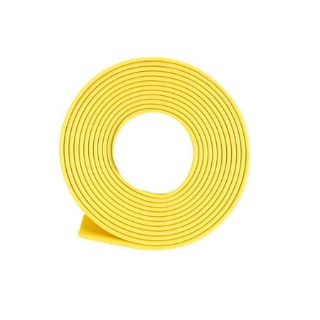 Heat Shrink Tube 2:1 Electrical Insulation Tubing Yellow 16mm Diameter 1m Length 0.625' Outside Diameter Tubing