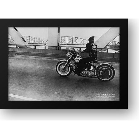 Rivet Frame (Crossing the Ohio River 34x24 Framed Art Print by Lyon, Danny)