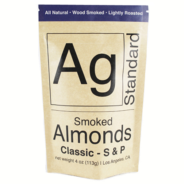 Ag Standard Classic S & P Smoked Almonds 4 oz Bags - Pack of 6