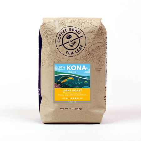 The Coffee Bean & Tea Leaf Kona Blend Light Roast Ground Coffee 12 oz.