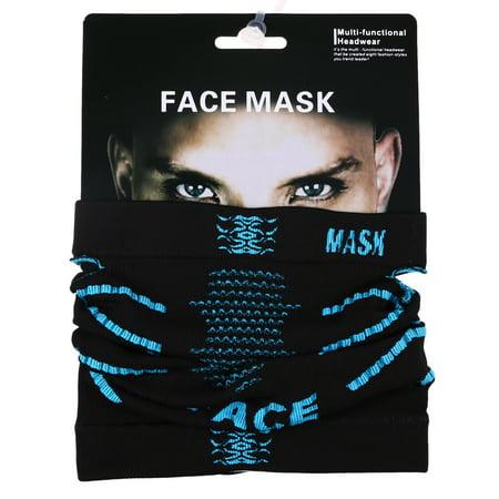 Motorcycle Ski Face Mask Outdoor Cycling Lycra Neck Ultra Vizor Unisex (Best Cheap Face Mask Uk)