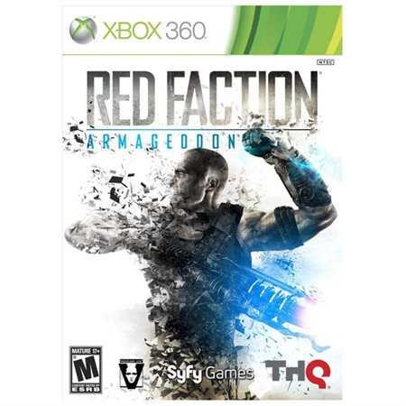 Red Faction Armageddon, THQ, XBOX 360, (Red Faction Guerrilla Xbox One Backwards Compatibility)