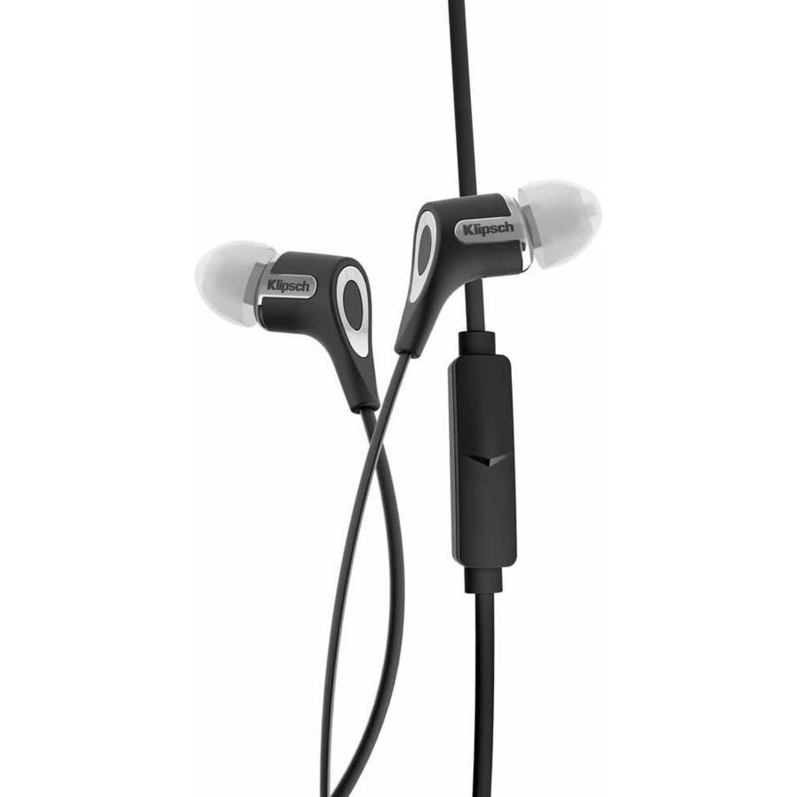Klipsch R6-M In-Ear Headphones, Black by Klipsch