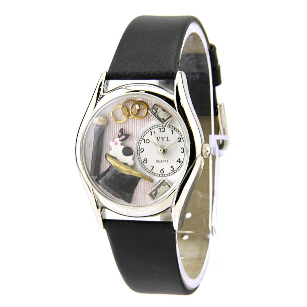 Whimsical magic Stainless Steel Black Women Watch