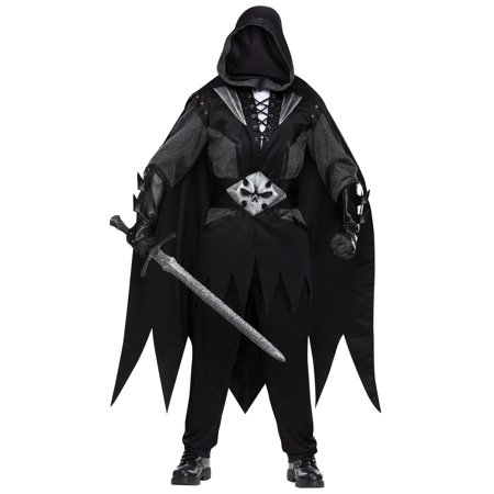 Evil Knight Adult Halloween Costume - One Size](Knight Costume Mens)