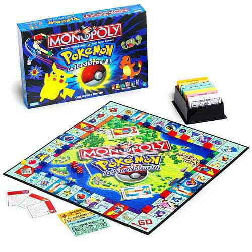 Monopoly Pokemon Edition by Hasbro