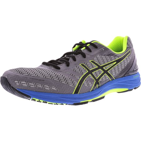 Asics Men's Gel-Ds Trainer 22 Carbon / Black Safety Yellow Ankle-High Training Shoes - 14M