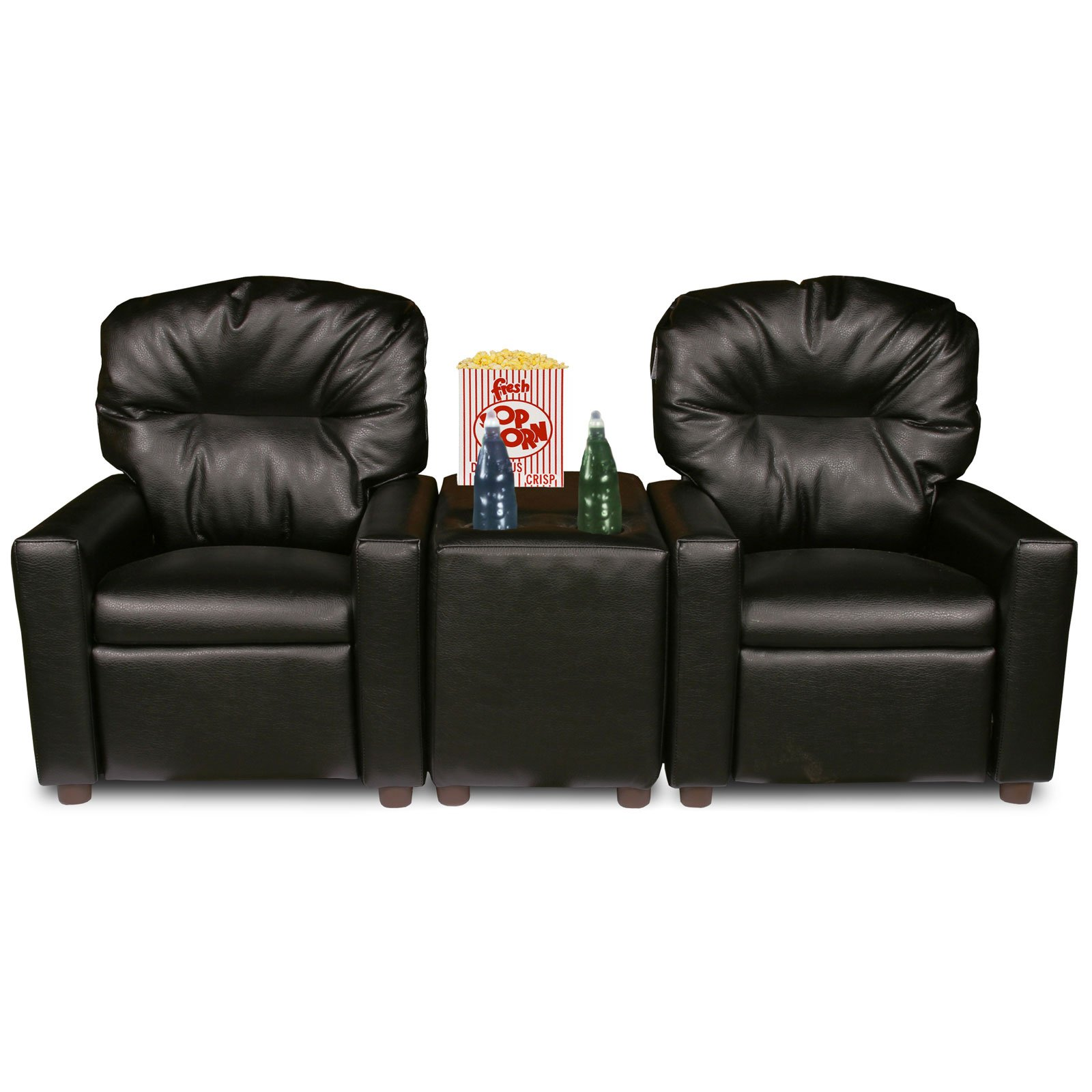 Dozydotes Kids 2 Seat Theater Seating Recliner Walmart