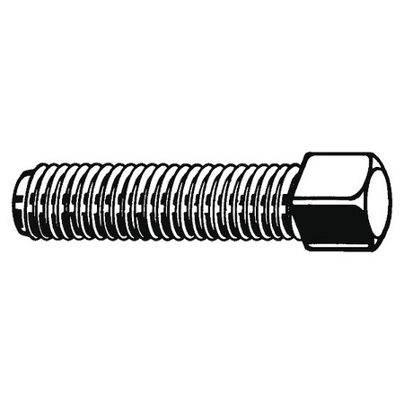 Pack of 2 U01080.031.0062 5//8 1018-1022 Carbon Steel Socket Set Screw with Plain Finish; PK100