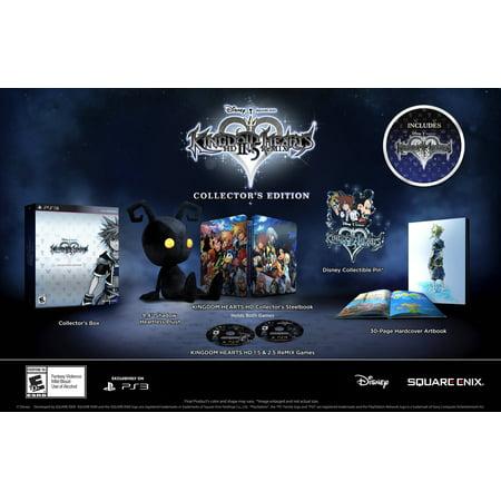 Kingdom Hearts Hd 2 5 Remix Collectors Edition  Playstation 3