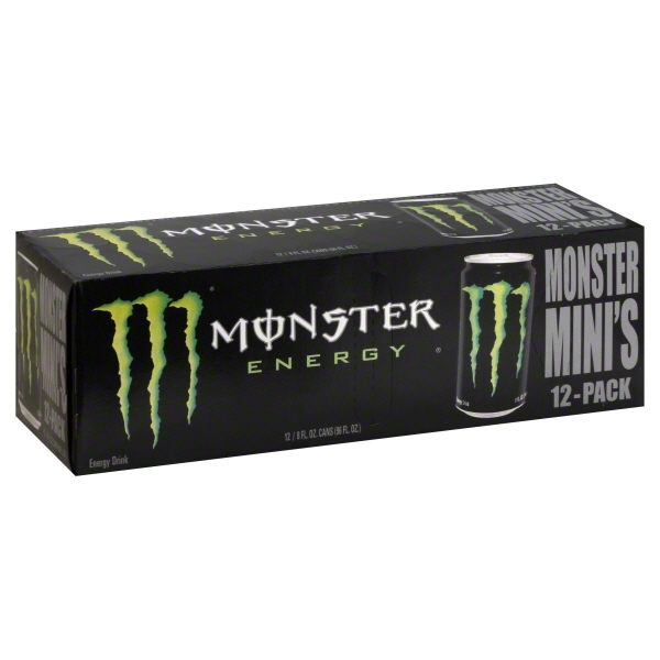 Monster Beverage Monster Mini's Energy Drink, 12 ea