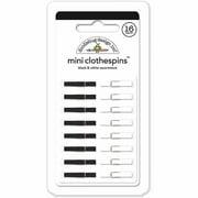 """Doodlebug Mini Clothespins, 1"""" x .125"""", 16pk"""
