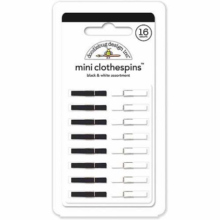 Doodlebug Mini Clothespins, 1