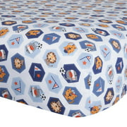 Bedtime Originals Baby League Fitted Crib Sheet