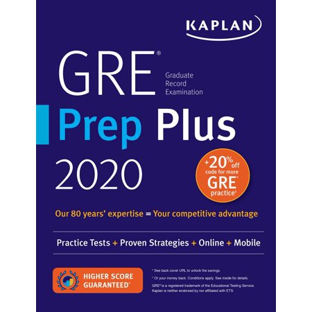 GRE Prep Plus 2020 : Practice Tests + Proven Strategies + Online + Video +