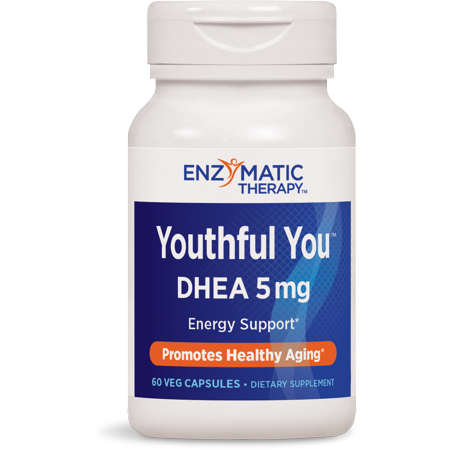 - Enzymatic Therapy Youthful You DHEA Vegetarian Capsules, 60 Ct