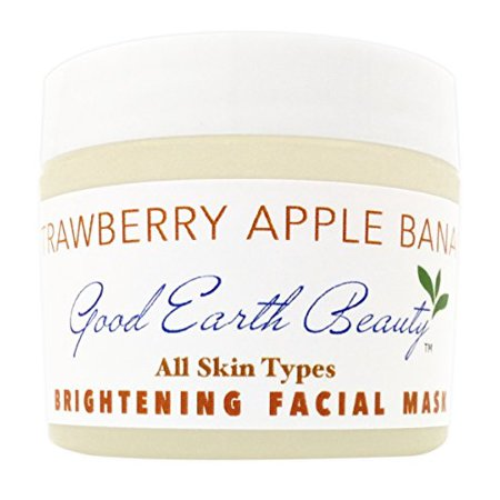 Facial Mask - Apple & Banana Brightening mask natural by Good Earth Beauty](Goon Mask)