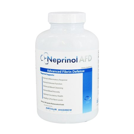Arthur Andrew Neprinol Advanced Fibrin Defense 500 Mg Capsules  300 Ea