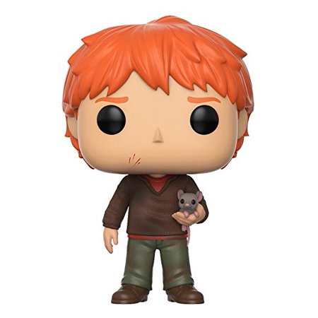 Funko POP Harry Potter: HP - Ron Weasley with Scabbers - Wembley Halloween