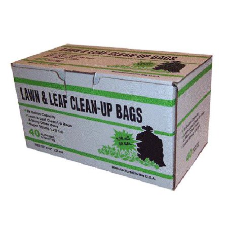Primrose Plastics 39125 Lawn & Leaf Bag, Black, 39 (Leaf Primrose Five Light)
