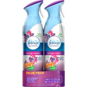 Febreze Air Effects Moonlight Breeze with Gain Scent Air Freshener, 9.7 oz, (Pack of 2)