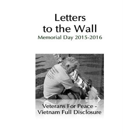 Letters to the Wall: Memorial Day Events 2015 and 2016 - eBook - Memorial Day Bbq Ideas