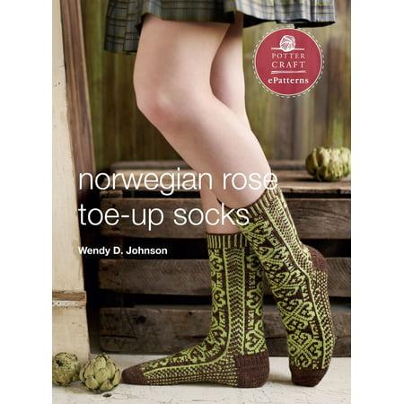 Norwegian Rose Socks - eBook