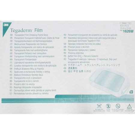 3m Transparent Film (Tegaderm Transparent Film Dressing 4