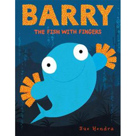 Barry the Fish with Fingers - - Fish Flingers