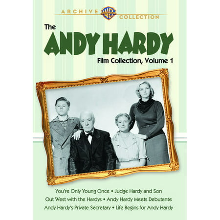 The Andy Hardy Film Collection: Volume 1 (DVD) (Raggedy Ann And Andy Movie Halloween)