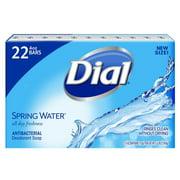 Antibacterial Deodorant Soap, Spring Water (4.0 oz., 22 ct.), Antibacterial/deodorant bar soap By Dial From USA