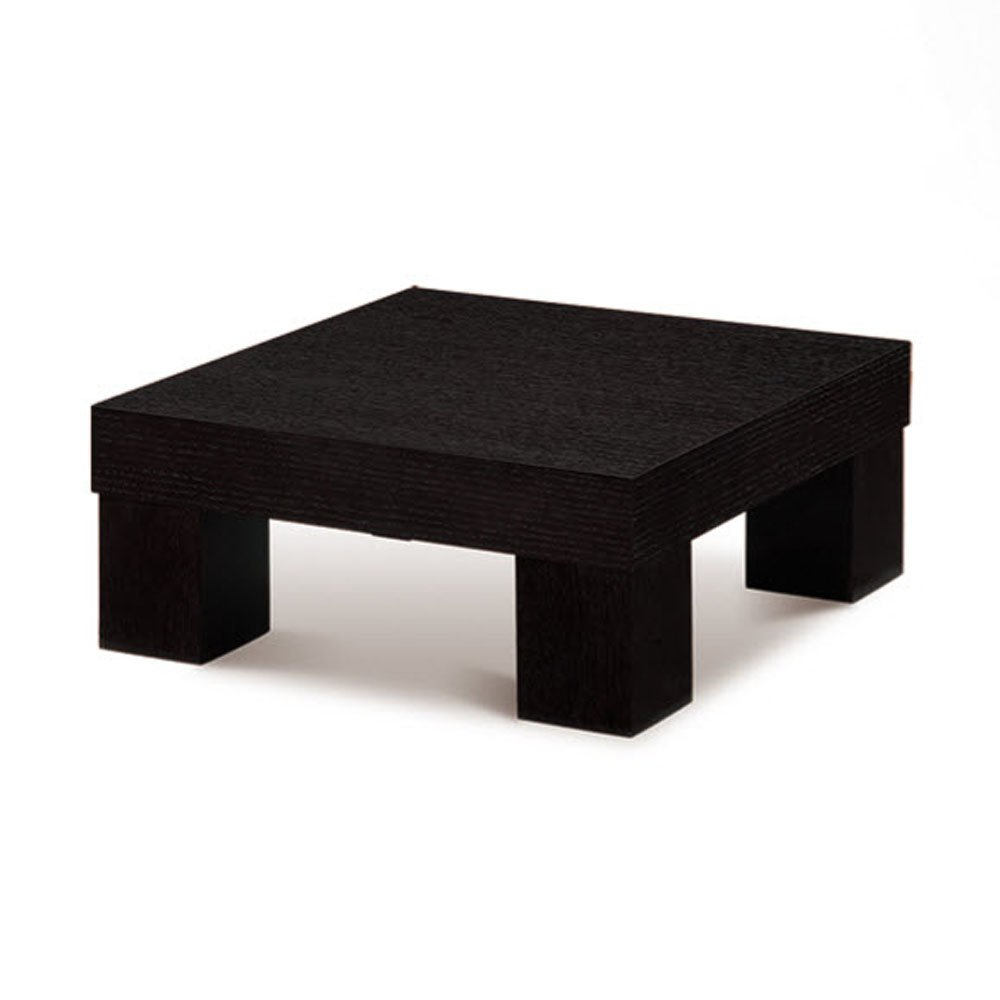 Global USA G020E Modelle Square Wood End Table in Wenge