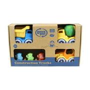Green Toys Construction Trucks - 3 Vehicle Gift Set