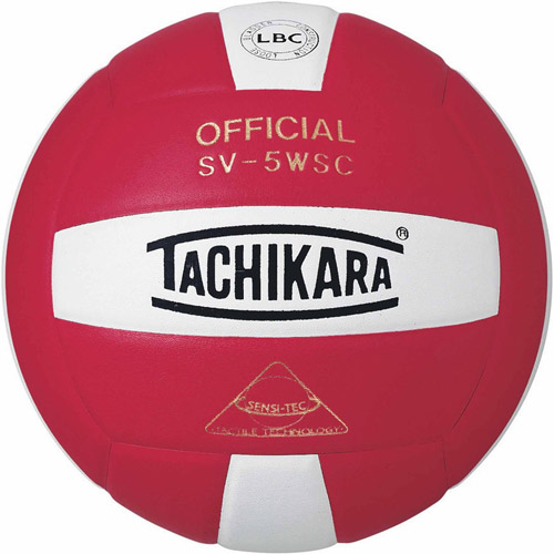 Tachikara SV5WS Colored Volleyball, Blue