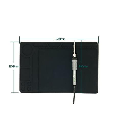 Heat Resistant Silicone Mat Soldering Pad Heat BGA Soldering Station Repair  - image 16 of 17