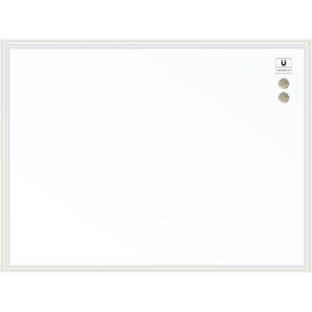 U Brands Magnetic Dry Erase Board, 40 x 30 Inches, White Décor