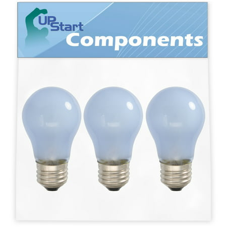 3-Pack 241555401 Refrigerator Light Bulb Replacement for Frigidaire PLHS39EESS9 Refrigerator - Compatible with Frigidaire 241555401 Light Bulb