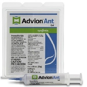Advion Ant Gel Bait 4x30gm Syringe- Indoxacarb .05%
