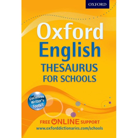 Oxford English Thesaurus For Schools  Hardcover