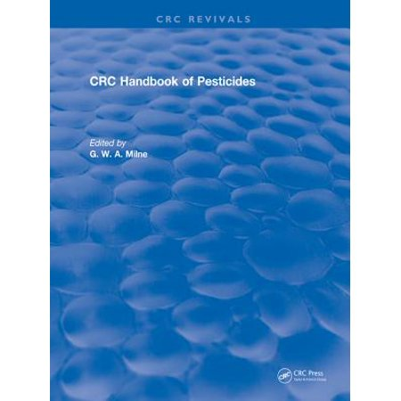 - CRC Handbook of Pesticides - eBook