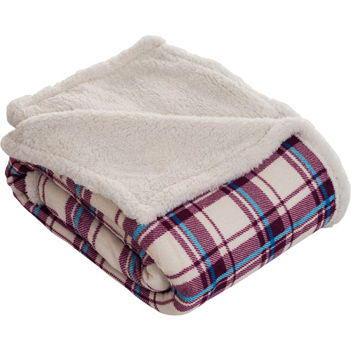 Somerset Home Throw Blanket, Fleece/Sherpa