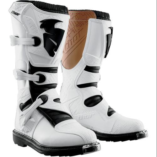 Thor Blitz 2015 MX/ATV Boots White MX