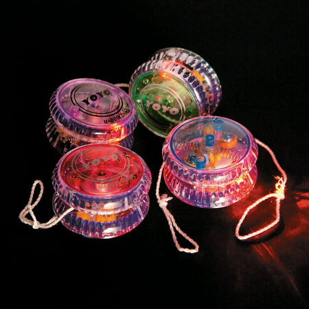 Fun Express - Light Up Champion Yo yo - Toys - Value Toys - Yo - Yos - 12 Pieces](Fun Toys For Adults)